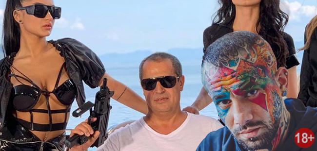 پارتی خفن پدر مونتیگو و امیر تتلو با دختران سکسی در کشتی (عکس18+)