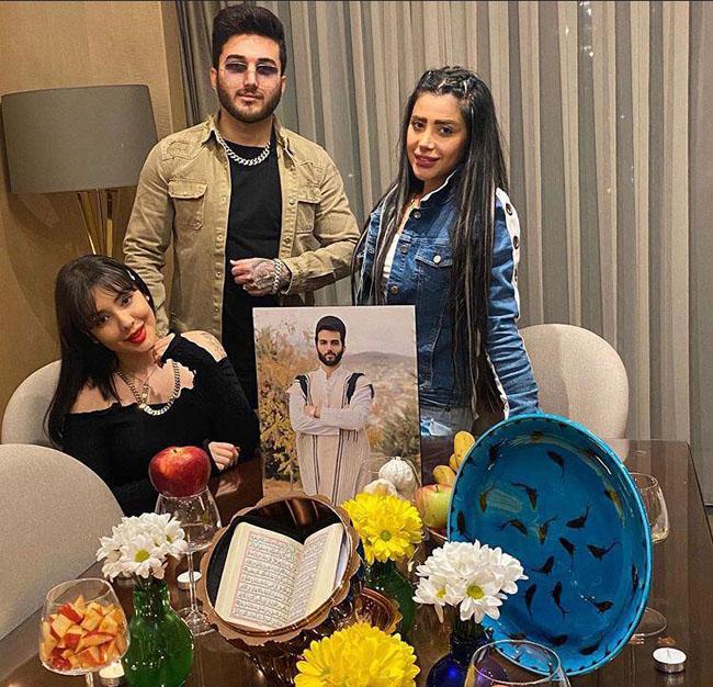 میزان ثروت پدرام مختاری (برادر پویان مختاری) + تصاویر لخت با همسرش