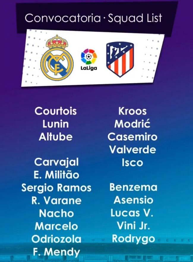 پیش بینی و نتیجه بازی رئال مادرید و اتلتیکو مادرید لالیگای اسپانیا