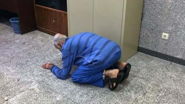 شکر گزاری پدر بابک خرمدین بابت تکه تکه کردن پسرش در حمام (+عکس)