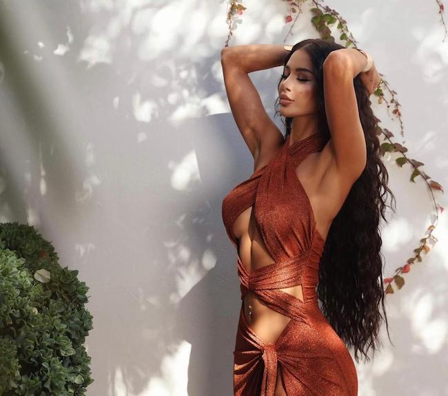 بیوگرافی مریم راد جذاب ترین مدل ایرانی در دبی (عکس داغ۱۸+)