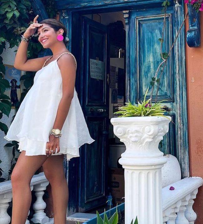 هلیا گلبین راد کیست؟ | مدلینگ جذاب ایرانی و رابطه با کوروش وانتونز (+عکس داغ)